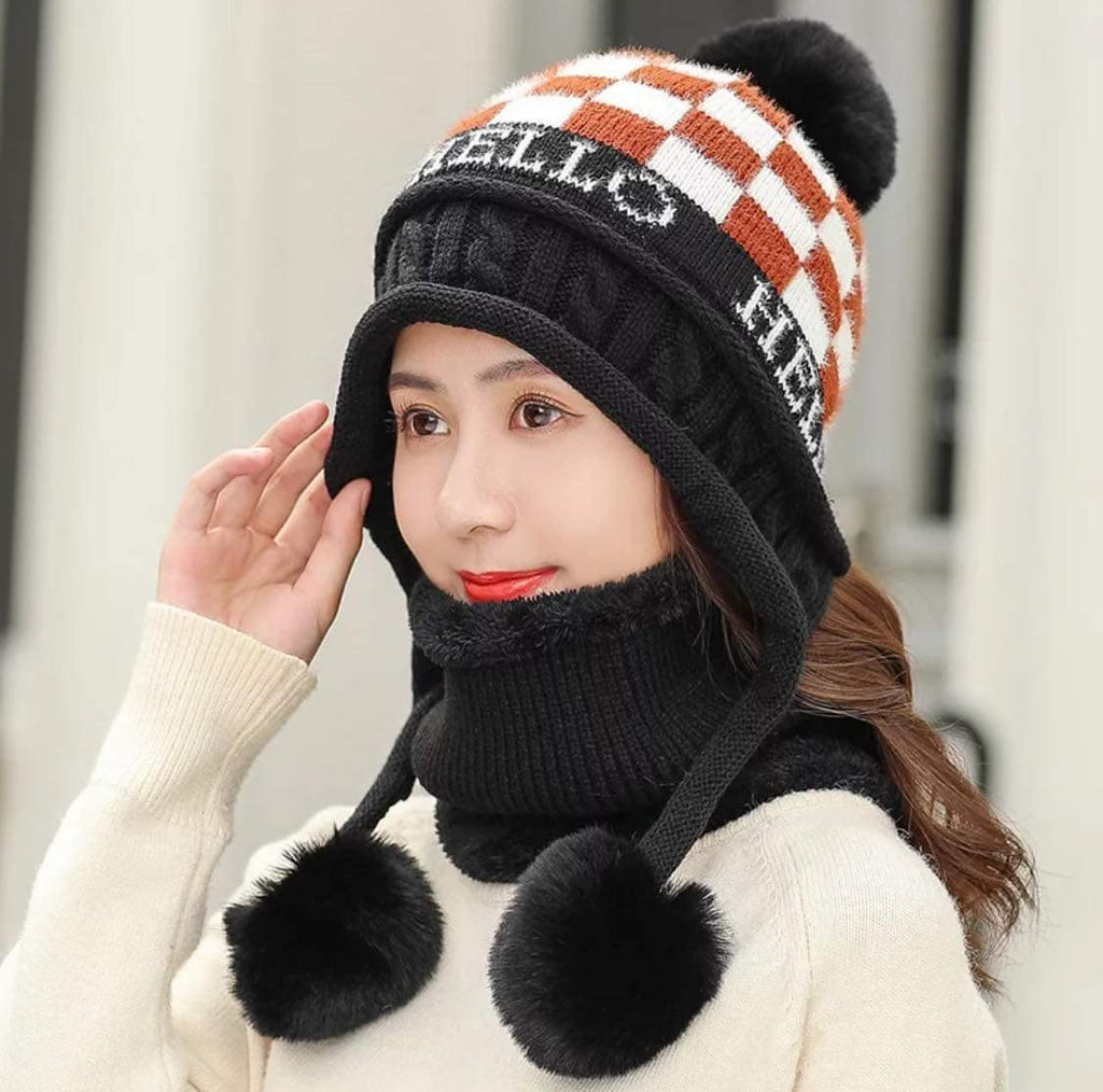 Pump Chess Cozy Hat