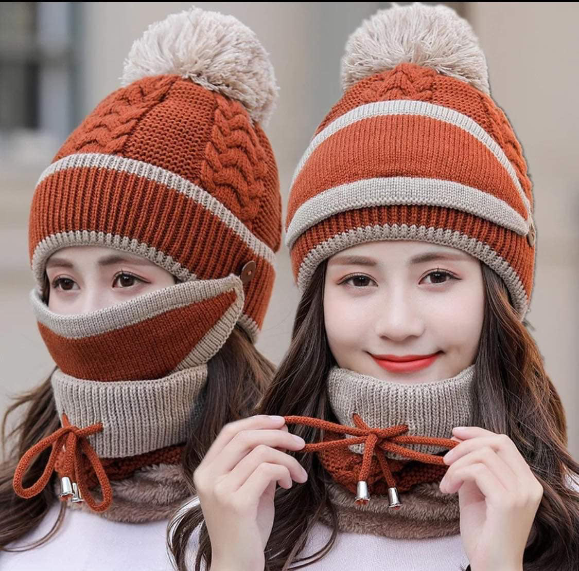 Hat Scarf Mask