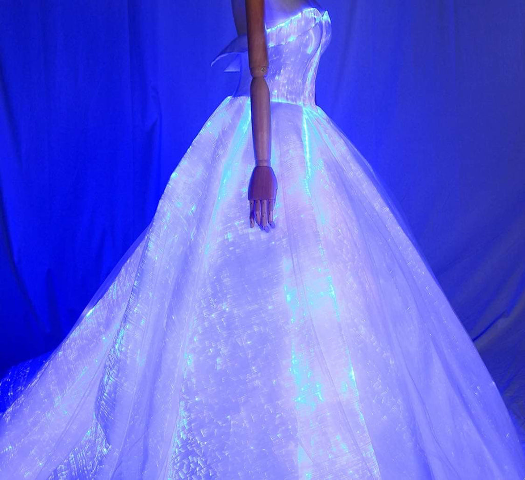 Luminous Led Light Wedding Dress