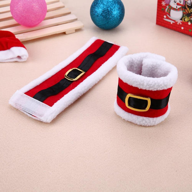 Santa Clothes Napkin Ring Holder