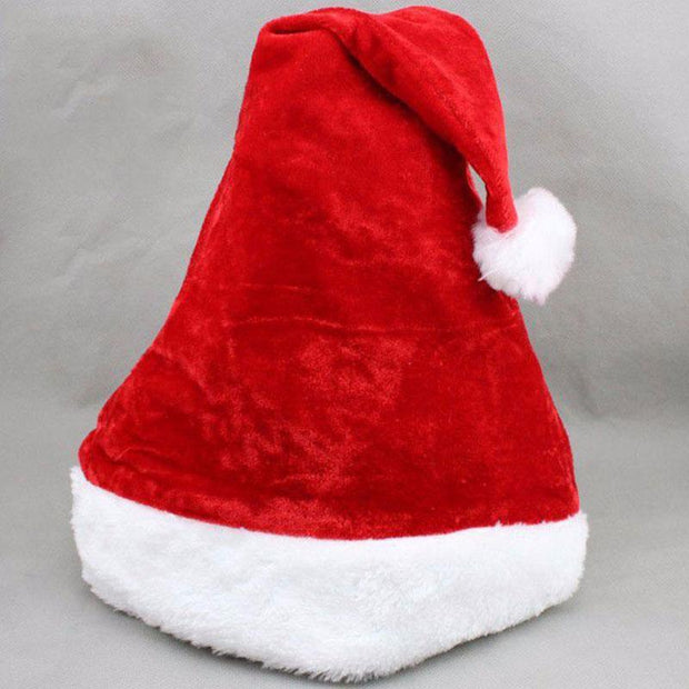 High Quality Plush Christmas Hats