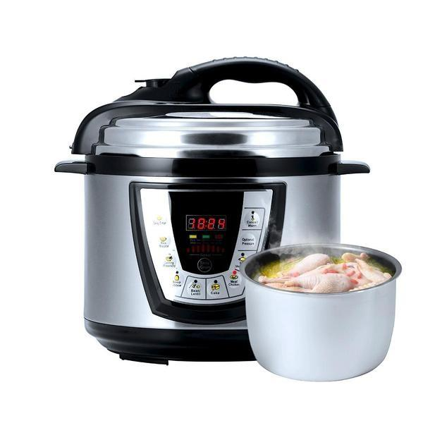 8-in-1 Intelligent Pressure Cooker
