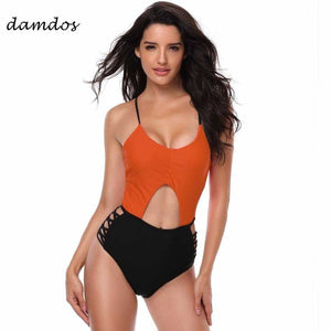 9cd0c88d2fbf5 Bikini 2019 Swimwear Women High Waisted Tankini Swinsuit for Women Black  Retro Women Bathing Suits Bikini Cover up Wetsuit Dress