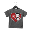 'Betty Kick' Women's T Shirt Heather Red