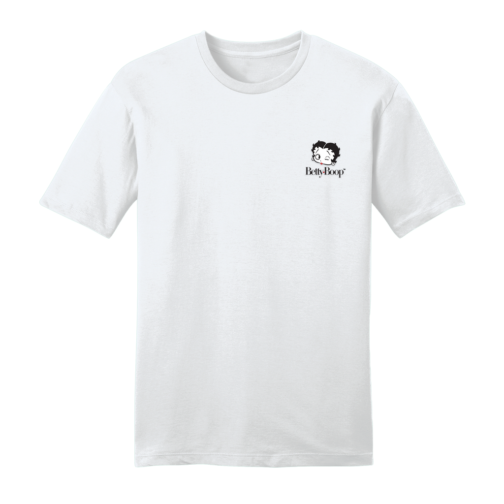 Embroidered Face T Shirt White