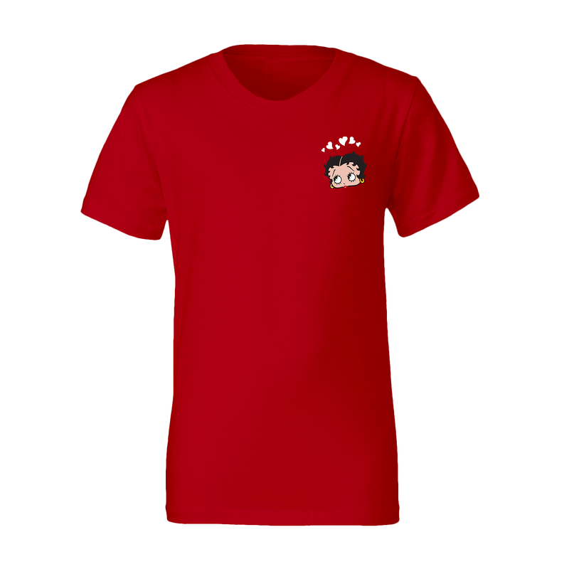 'Modern Classic' Youth T Shirt Red