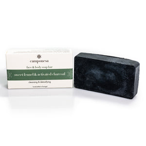 Vegan Charcoal Soap Bar For Face & Body