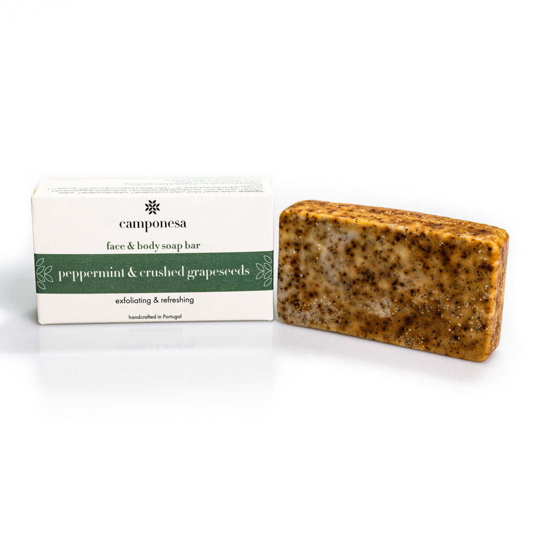 Vegan Exfoliating Soap Bar For Face & Body