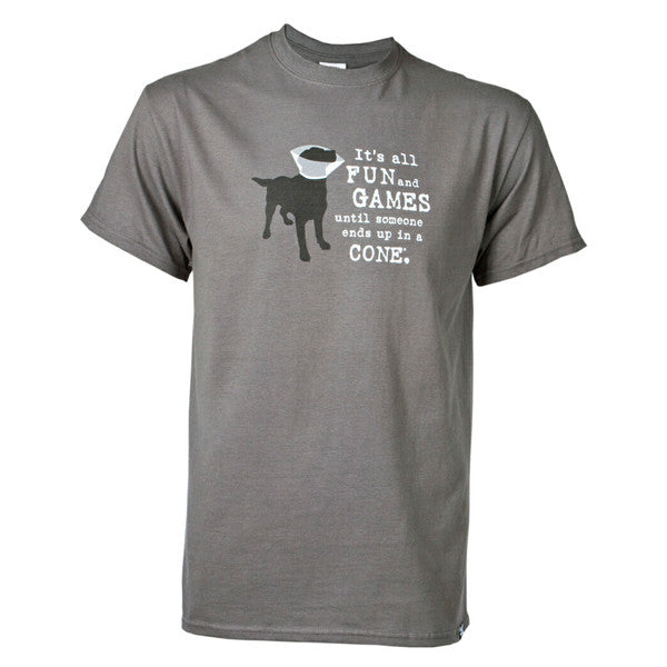 It's Fun and Games - Slate Tee