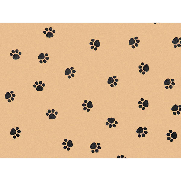 Paw Print Tissue Paper