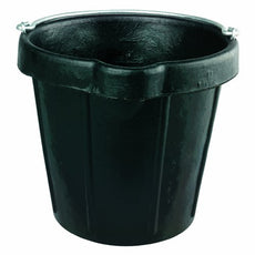 Fortex N105-12 Heavy Duty Rubber Pail with Lip, 12-Quart