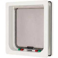 Dog Mate Small Dog Door White