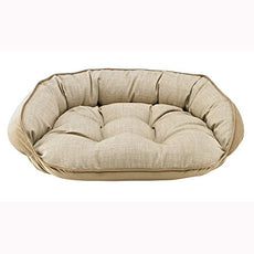 Bowsers Crescent Bed, Large, Flax
