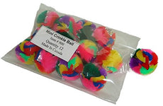 Cancor Innovations Mini Crinkle Ball Cat Toy 12 Pack