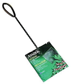 Marina 4 Inch Black Coarse Nylon with 10 Inch Handle