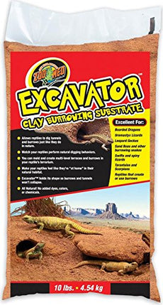 Zoo Med Excavator Clay Burrowing Substrate, 10 Pounds