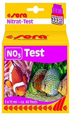 Sera Nitrate-Test (No3) 15 Ml, 0.5 fl.oz Aquarium Test Kits