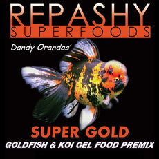 Repashy Super Gold - Goldfish and Koi Gel Food 6 Oz JAR