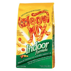 Meow Mix Indoor Formula Dry Cat Food 3.15 Lbs
