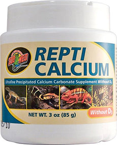 Zoo Med Reptile Calcium Vitamin D3 3 oz.