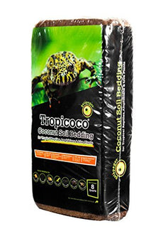 Galapagos (05010 Tropicoco Coconut Soil Bedding, 8-Quart, Natural