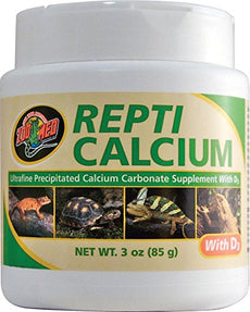 Royal Pet Supplies Inc Zoo Med Reptile Calcium Vitamin D3 3 oz.