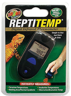 Zoo Med Repti Temp Digital Infrared Thermometer 6 x 1.3 x 6 inches