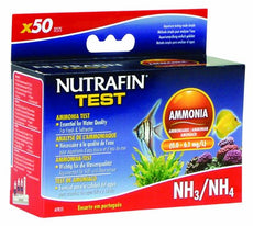 Nutrafin Ammonia 0.0 to 6.1 Mg/L for Fresh and Saltwater, 50-Tests