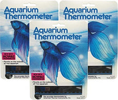 American Thermal Horizontal Aquarium Thermometer 3 Pack