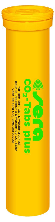 Sera CO2-Tabs Plus 20 Tabl, 3.2 oz. Aquarium Test Kits
