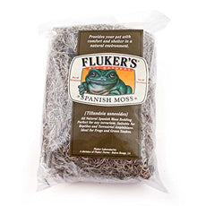 Fluker Labs SFK36020 Spanish Moss Small Animal Bedding, Large