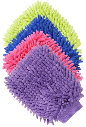 Tough-1 Grooming/Applicator Mitt Purple