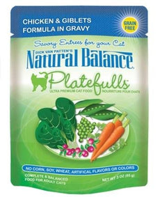 Cat Supplies Natural Balance Platefulls - Chicken & Giblets