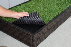 Synthetic Grass for Premium Porch Potty