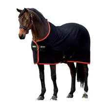 Horseware, Rambo Softy Fleece, Black/Gold & Red, 81