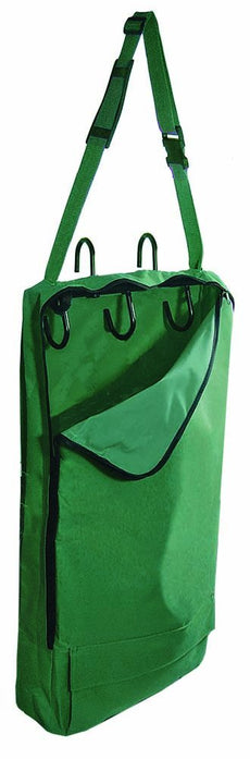 Derby Originals Bridle/Halter Bag with 3-Hook Rack and One year warranty Hunter Green