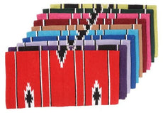 "Tough 1 55% Wool Sierra Saddle Blanket 30""X30"" Lime/black/Cream"