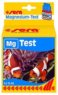Sera Magnesium-Test (Mg) 15 Ml, 0.5 fl.oz Aquarium Test Kits