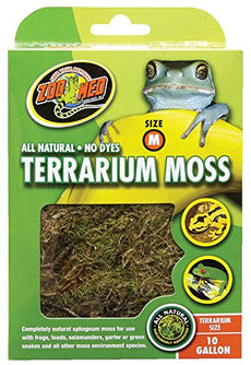 Zoo Med All Natural Reptile Terrarium Moss Substrate 10 Gallon