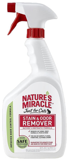 Nature's Miracle Just For Cats Stain and Odor Remover, 32 oz