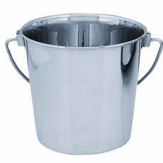 QT Dog Round Stainless Steel Bucket, 2 Quart