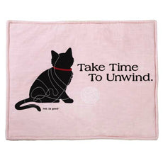 Cat Is Good Cat Mat, Pink
