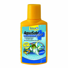 Tetra AquaSafe Plus Water Conditioner/Dechlorinator 33.8-Ounce