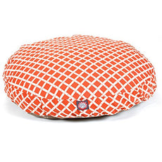 Majestic Pet Bamboo Round Pet Bed Burnt Orange Medium