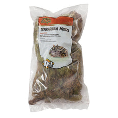 Zilla Beaked Terrarium Moss Standard Packaging 10-Quart Bag