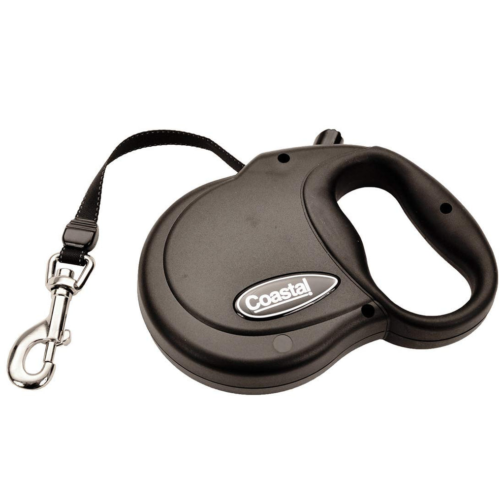 Power Walker Retractable Dog Leash Black l
