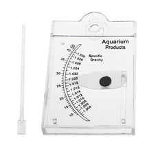 Sea Hydrometer Salinity Meter Specific Gravity Test for Aquarium Fish Tank Water Marine Sea Saltwater