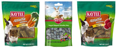 Kaytee Small Animal Treats 3 Flavor Variety Bundle (1) Each: Berry Alfalpha Nibblers, Yogurt Dipped Timothy Hay, Carrot Alfalpha Nibblers, 2.5-5 Ounces