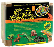 Zoo Med Eco Earth Compressed Coconut Fiber Substrate 3-Bricks