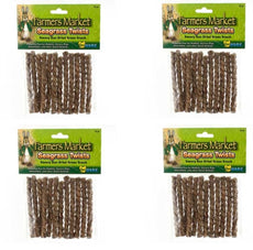 (4 Pack) Ware Sundried Seagrass Twists Small Pet Chews